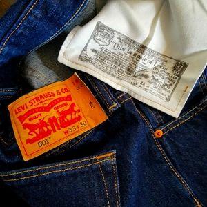 Levi's 501. Original Fit Men's Jeans. W33/L30 NWOT